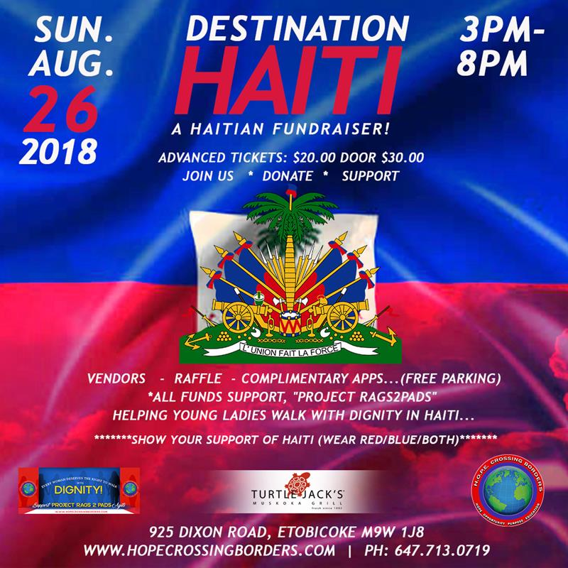 DESTINATION HAITI Fundraiser